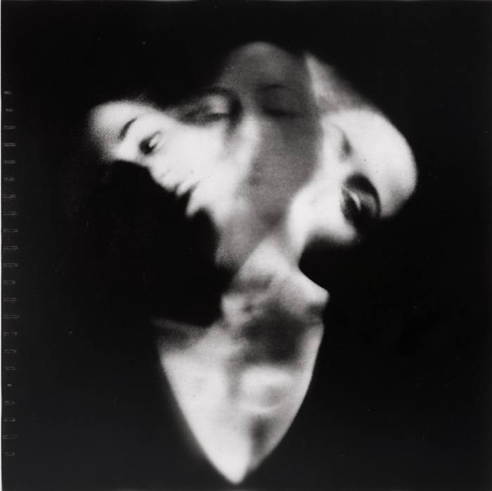 Self, double exposure of positive and negative image on black and white photo paper, 2012