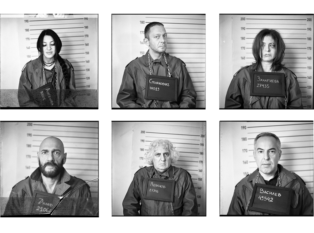 Prison of here-and-now. Ilford Delta 400 b&w film. Ongoing collaboration with Dimitar Stoyanovich showing the authors of L'Europeo.